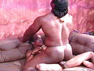 Ebony Sex - Muscle Bottom, Twink Top