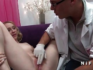 Sexy Cougar Hard Analized By Doctor Sos Sodomy