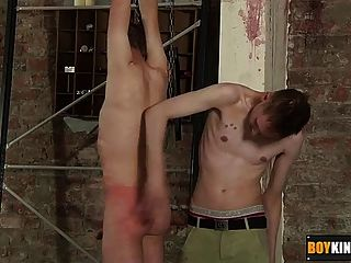 Cute Olly Tayler Gets Spanked And Wanked