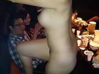Naked Asian Girl Lap Dance