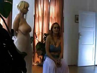 Dance Of Lush Muslim Saggy Boobs