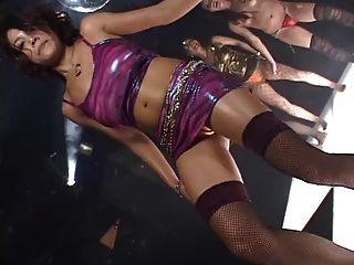 Japan Girl Daiya Disco Gogo Boobs Solo Dance