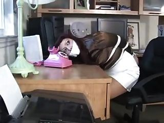 Secretary Tied And Gagged