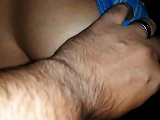 Indian Hubby Playing With Wife Huge Boobs