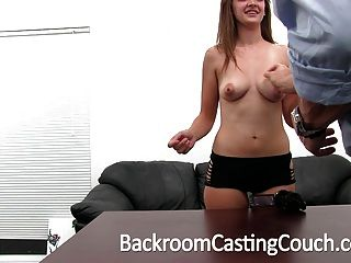 Busty Teen Fucked Hard And Swallows Cum