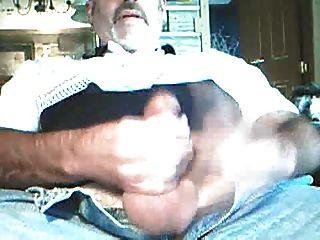 Silver Daddy Bear Jerk Off 3