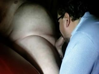Sucking A Big Daddy Cock
