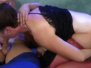 Fat Russian Mature Slut Loves Hard Hot Anal Creampie