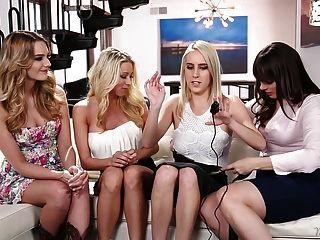 Amazing Lesbian Foursome