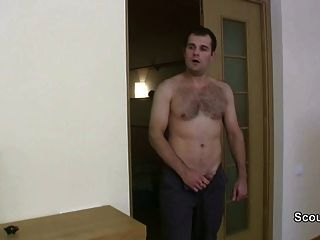 Teen Caught Masturbation And Seduce To Fuck By Old Man