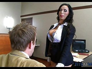 Big Tits In The Courtroom