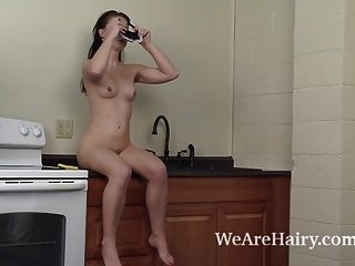 Megan Is A Sexy Natural Maid With Perfect Curves