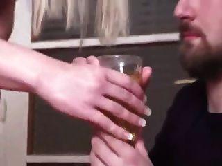 Femdom Piss In A Glass