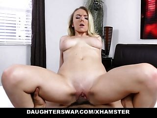 Daughterswap- Sneaky Daughter Blindfolded And Fucked - Pt.2