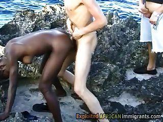 Hot Ebony Fucking  Porn