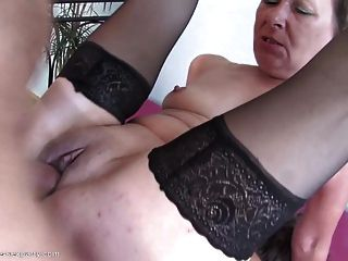 Granny And Mothers At Group Sex With Young Lover