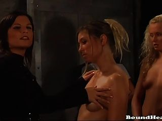 Slave Training And Whipping For Naked Teen Slaves