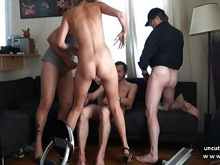 Yong boy picked up granny tourist for fucking 7