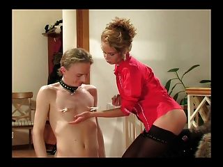 Mistress And Her Doggy