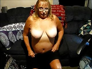 Mature Wife Strips For All To See