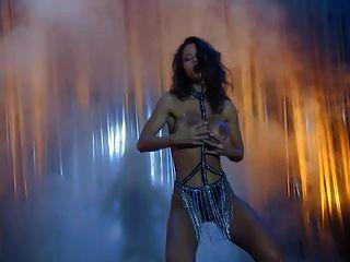 Sexy Big Boobs Legend Veronika Hot Night Club Striptease