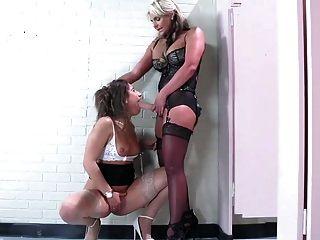 Domme Lesbian Fuck Secretary
