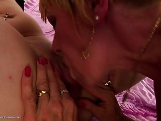 Daughter Pissed On And Fucked By Two Grandmas