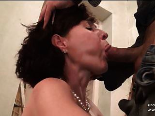 Stunning Amateur French Mature Sodomized And Cum Covered
