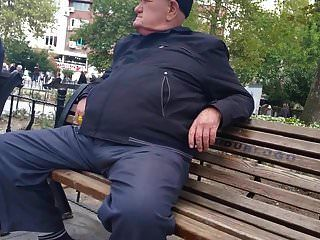 Straigh Turkish Grandpa In Public