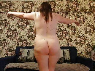 Chubby Huge Boobies Strip Dance Abbey
