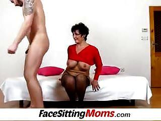 Panty Sniffinig With Big Boobs Lady Greta