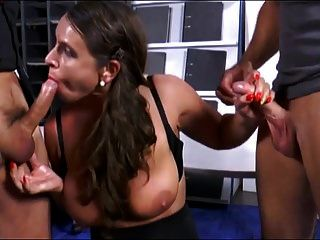 Sexy Susi Rough Dp In Stockings