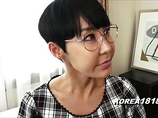 Ugly Korean Milf With Glasses In Japan
