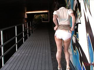 Ffstockings - Mature Lady Gets Busted While Masturbating