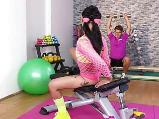 Fitness Rooms Hot Thai Babe Gets Deep Anal Creampie Workout