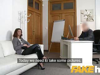 Fake Agent Money Drives Cute Teen To Suck Cock In Casting