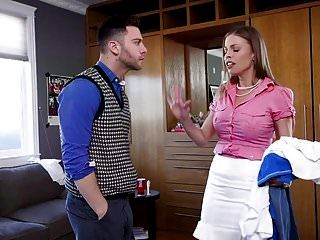 Anal Housewife Trains Son