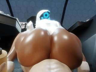 Booty Haydee Pov Big Black Ass Bubble Butt (3d Hentai)
