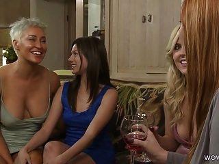 Lesbian Step Sisters Have Feelings
