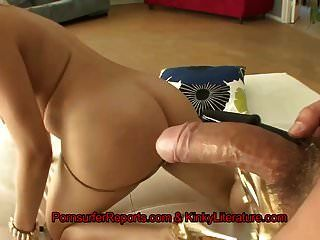 Anal Addicted Chick Gets Milk Enema After Ass Fucking