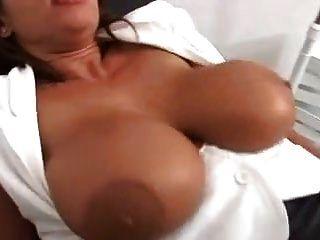 Sexy Susi Big Sagy Tits Anal 2 Cocks
