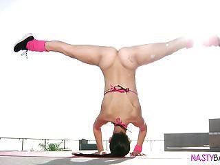 Ultra Flexible Babe Alina Lopez Fucked Hard