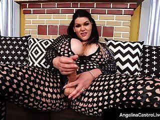 Cuban Princess Of Porn Angelina Castro Fucks Ebony Maserati!