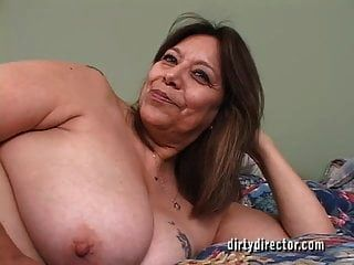 See This Juicy Mexican Granny