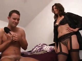 Mom Catches Son And Fulfill His Feet Dreams