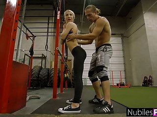 Petite And Tight Kenzie Reeves Teen Pussy Stretched S1:e3