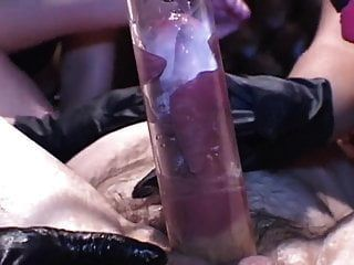 Femdom Fingering Ass And Pumping Cock