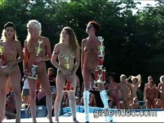 naked beauty parade