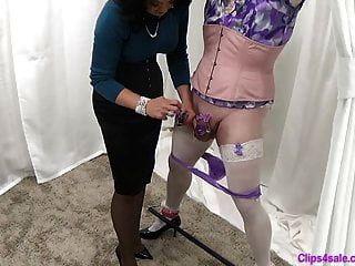 Mistress dresses sissy slut in lingerie Sissy Panties Porn Videos At Wonporn Com